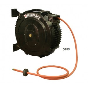 Reelcraft SGA3650-OLP Low Pressure Air & Water Reel